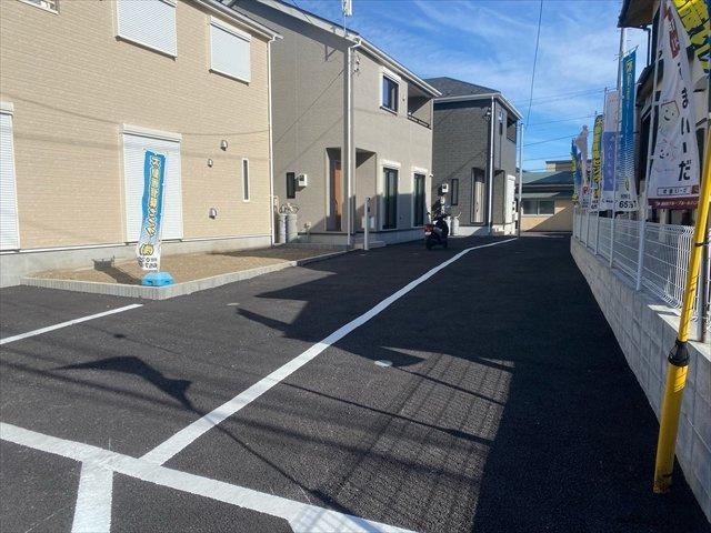 【外観】新築一戸建て「南足柄市岩原」駐車4台可!