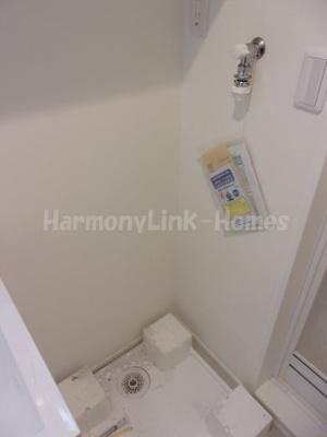 ハーモニーテラス柴又Ⅱの室内洗濯機置き場
