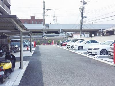 【駐車場】エステムプラザ京都聚楽第 雅邸