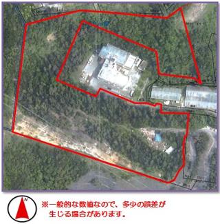 【区画図】恩納村字安富祖(5073.22坪)