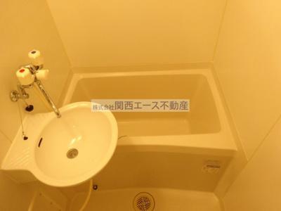 【浴室】レオパレスフセアジロミナミ