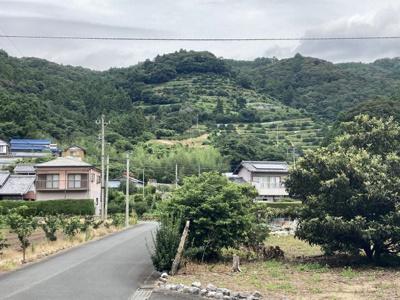 【前面道路含む現地写真】引佐町奥山 売土地
