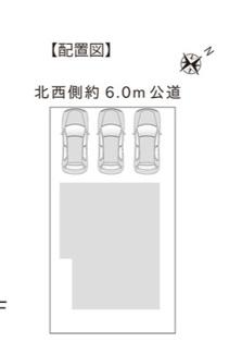 【区画図】新築 新潟市中央区関屋田町A棟