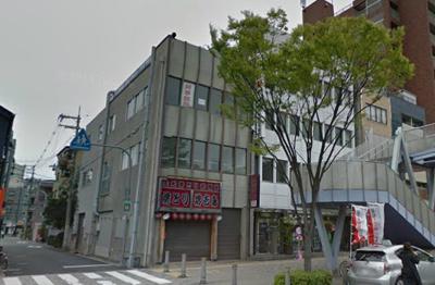 【外観】堺東駅より8分!約28坪!2階店舗事務所!大通りに面した立地!