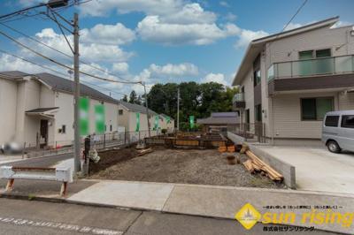 【外観】東大和市芋窪2丁目 新築一戸建 全1棟 1号棟