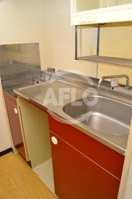 EPOあみだ池レジデンス  コンロ設置型キッチン