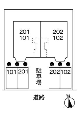 【区画図】すみれ館Ⅲ