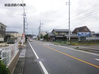 【前面道路含む現地写真】近江八幡市武佐町  売土地