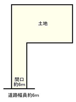 【土地図】近江八幡市十王町 売土地