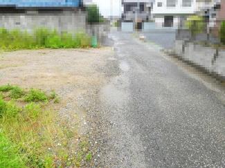 【前面道路含む現地写真】近江八幡市上野町 売土地