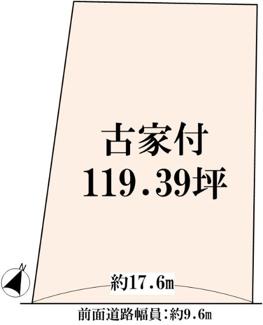 【土地図】近江八幡市馬淵町 売土地