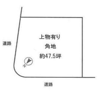 【土地図】近江八幡市緑町3丁目 売土地