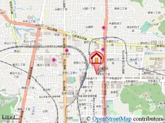 【地図】United SQUARE