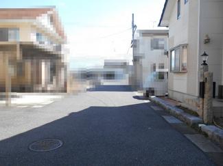 【前面道路含む現地写真】近江八幡市西庄町 売土地