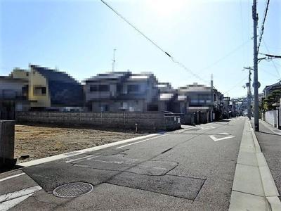 【前面道路含む現地写真】垂水区馬場通 新築一戸建 1号棟