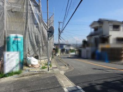 【前面道路含む現地写真】神戸市垂水区神陵台 2号地 新築戸建