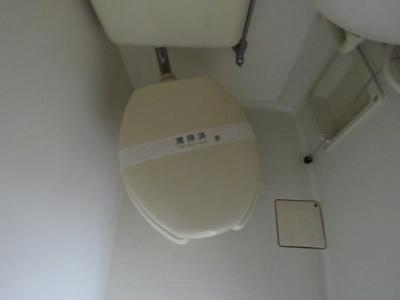 【トイレ】ラフィーネ千里丘