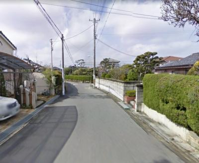 閑静な住宅地です♪前面道路幅員5.9mあります♪