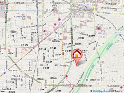 【地図】グラン・シャリオ A・