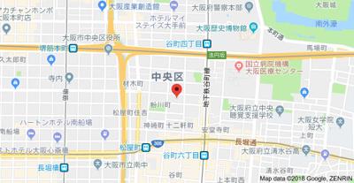 【地図】大野ハイツ