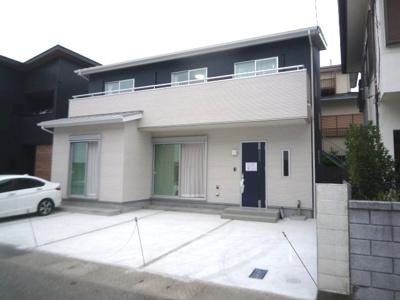 【外観】高知市百石町4丁目新築戸建て
