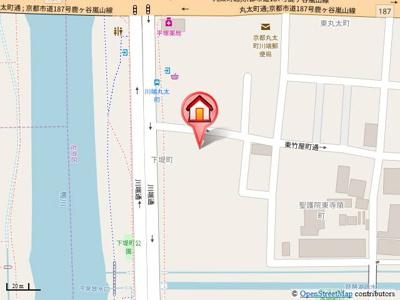 【地図】ヴィラコート川端
