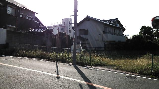 【外観】東豊中町2丁目A号地建築条件無売地