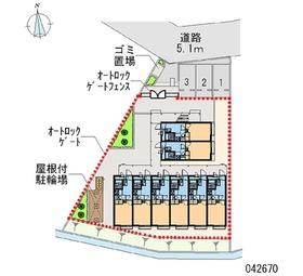 【区画図】グレイスSHINOIII