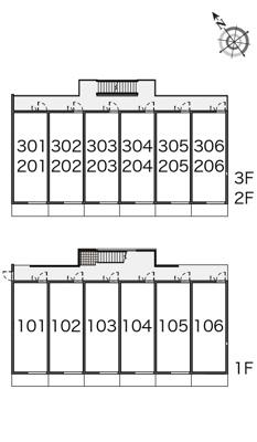 【区画図】コンフォ