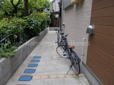 ハーモニーテラス綾瀬の駐輪スペース☆