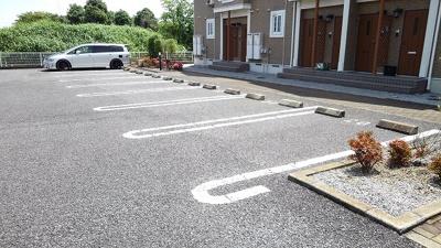 【駐車場】メゾン ソレイユC