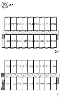 【区画図】レオパレス辻九第三