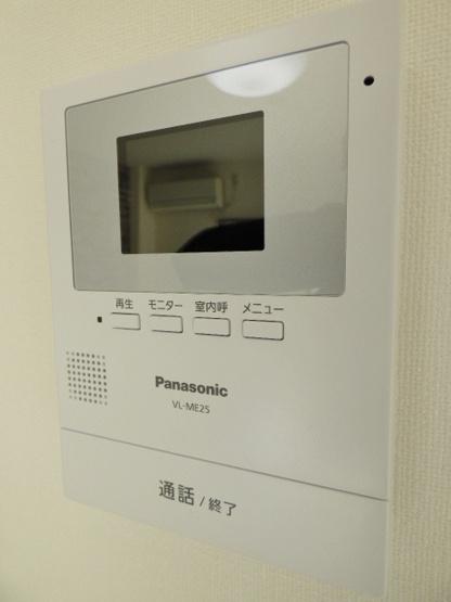 居室にモニタ付インターホン付き!玄関まで行かずに来客確認!