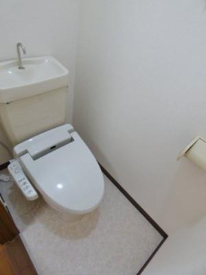 いつでも快適な温水洗浄便座。