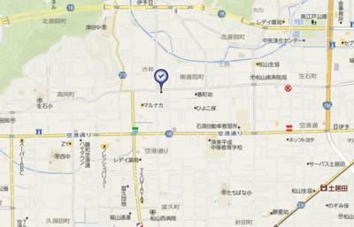 【地図】ファーストイン南斎院