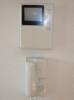 テレビモニター式インターホン