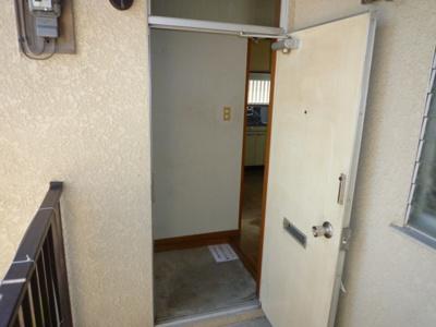 【玄関】取手サンコーポ