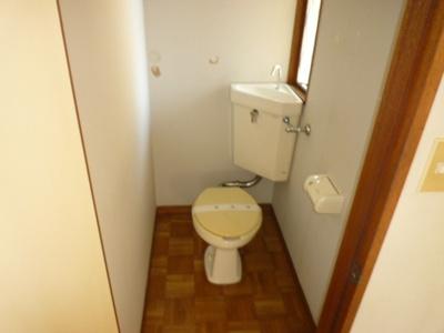 【トイレ】取手サンコーポ