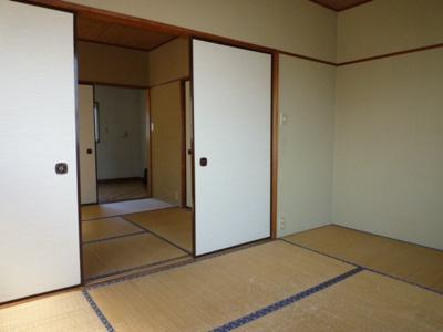 【寝室】取手サンコーポ