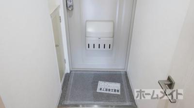 【玄関】ハレー高槻Ⅱ