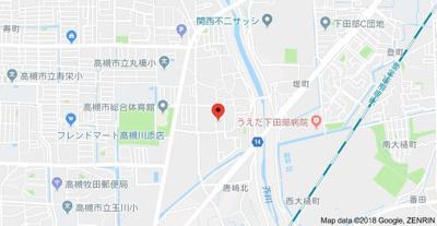 【地図】ファミール北野