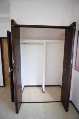 洋室7.6帖 クローゼット モデルルーム