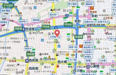 【地図】レフィナード鶴翁