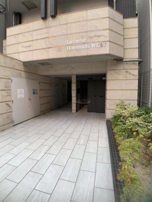 【エントランス】ラ・フォルム本町WEST