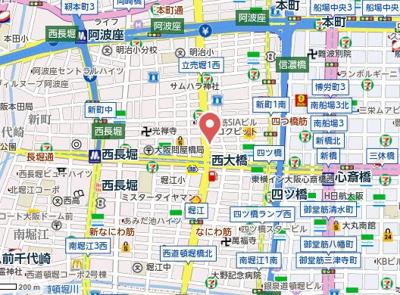 【地図】アリスマナーガーデン新町