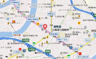 【地図】プレサンス御幣島ステーションフロント