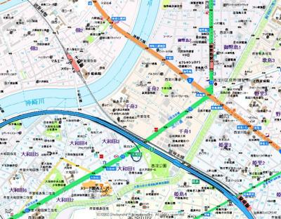 【地図】フジパレススリーハーブズ姫島