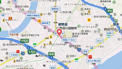 【地図】フェアリーコート歌島橋