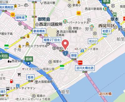 【地図】スタンドアップ野里