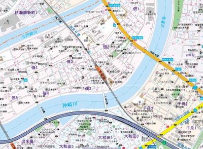 【地図】GROOVE千船駅前